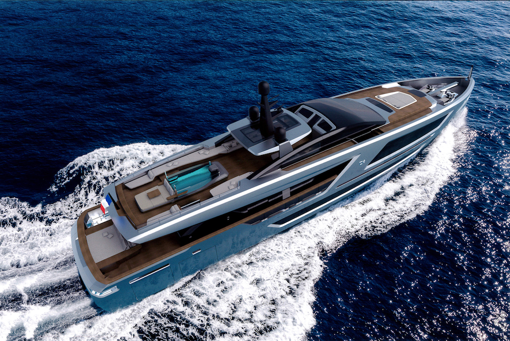 CCN secures new order for a 40 m Fuoriserie yacht to be delivered to a European owner