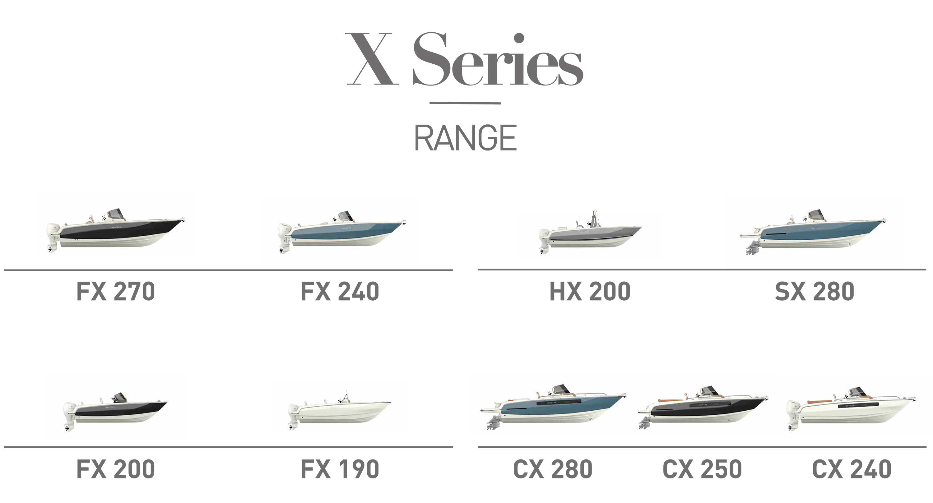 2019 X Series Line Up