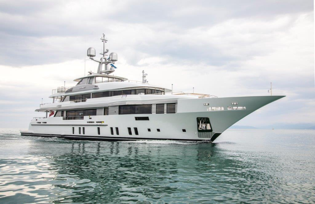 Benetti delivers the 49-meter superyacht Elaldrea+