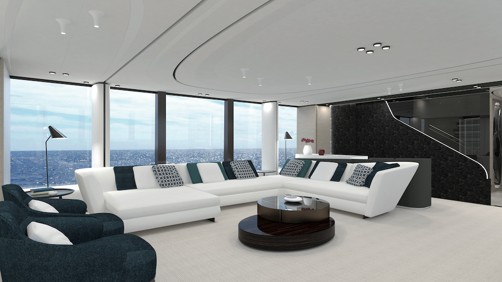 New isa extra by francesco guida top yacht design for Programmi interior design