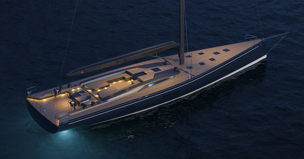 New RP-NAUTA 100' custom yacht currently under construction at Southern Wind Shipyard
