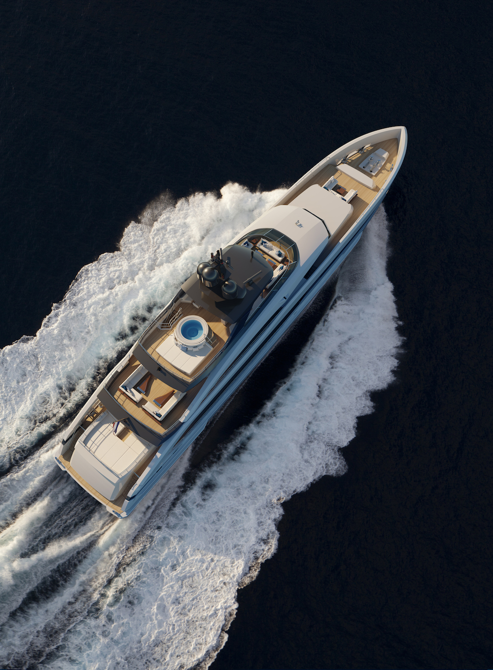 Heesen presents Project Aquamarine, the first yacht in the 5000 Aluminium Class!