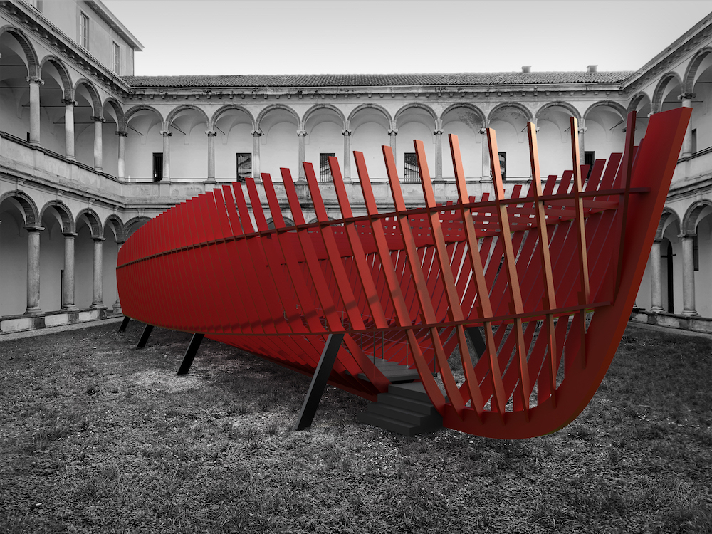 From shipyard to courtyard  Anteprima FuoriSalone 2019