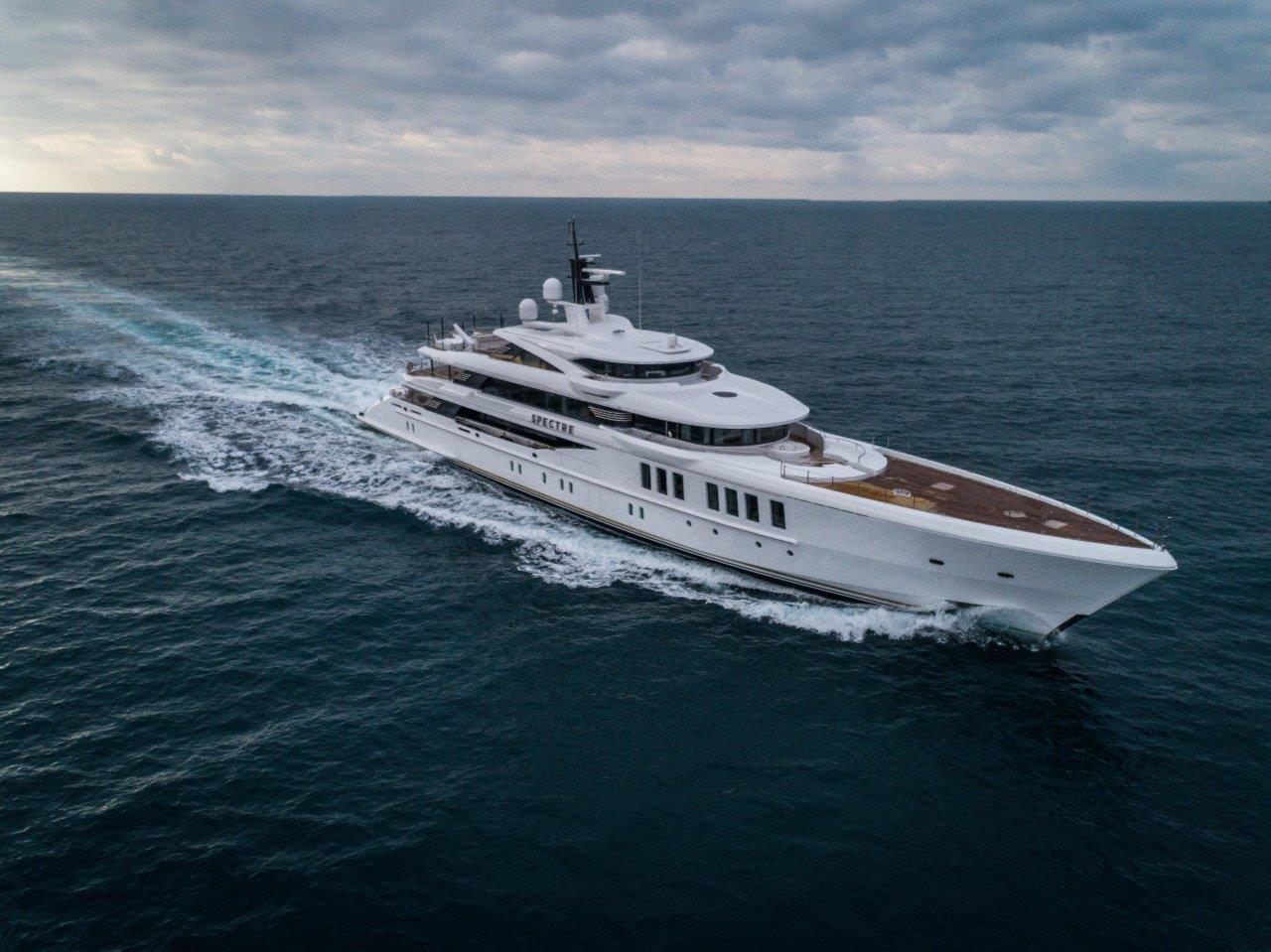 """""""Spectre"""", the 69-metre by Benetti, wins at the Asia Boating Awards 2019"""