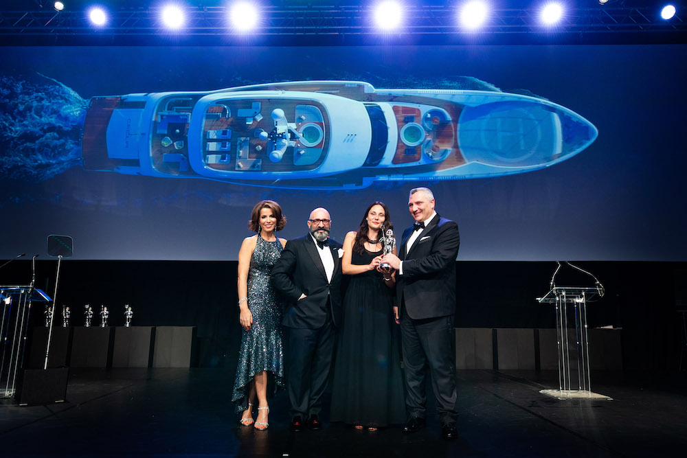 Wider 165 vince ai World Superyacht Awards 2019