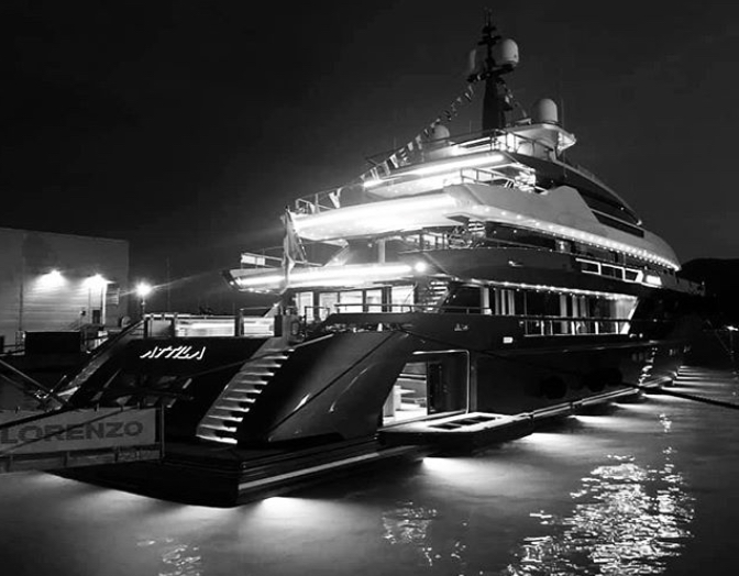 Sanlorenzo launches the 64Steel Attila, the new flagship