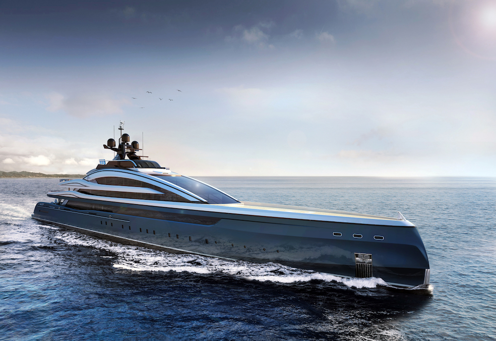 Isa Yachts introduces the Crossbow by Sergio Cutolo