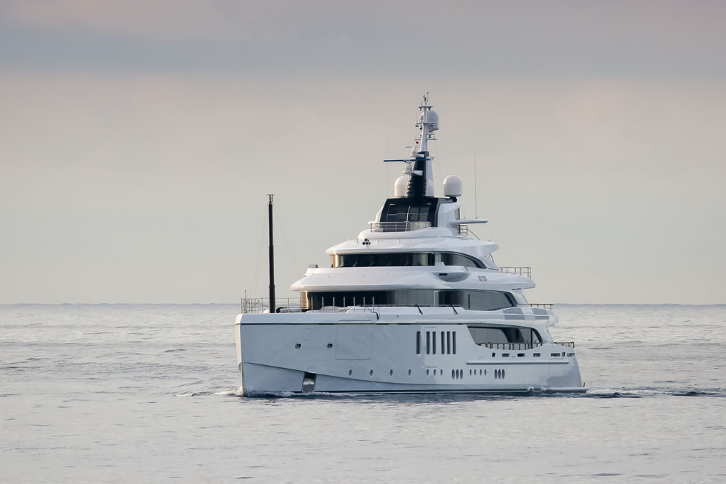 Benetti delivers the 63m Metis