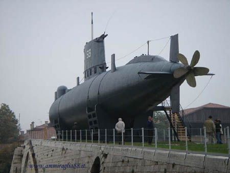 The Venice Boat Show reveals the secrets of the famous submarine Enrico Dandolo