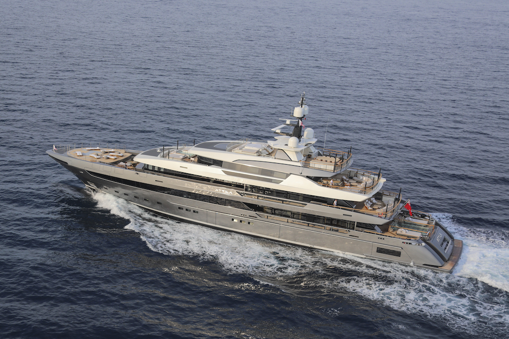 Sanlorenzo Attila 64Steel awarded at the Monaco Yacht Show