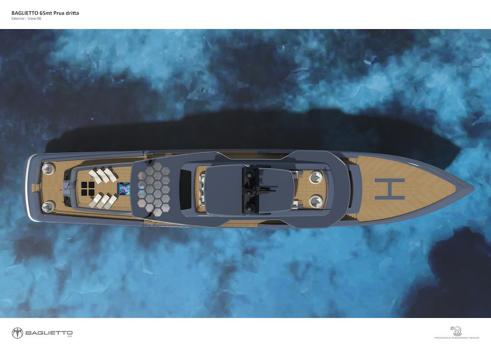 Francesco Paszkowski disegna il nuovo Baglietto 65 V-Line