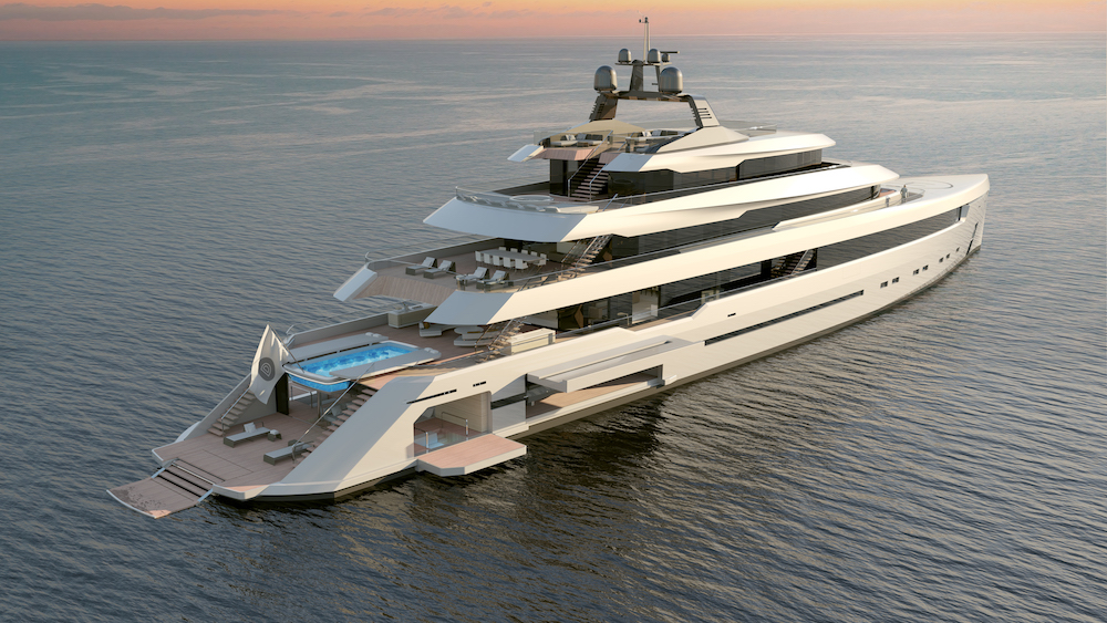 The 86m Starlight project by Darnet Design