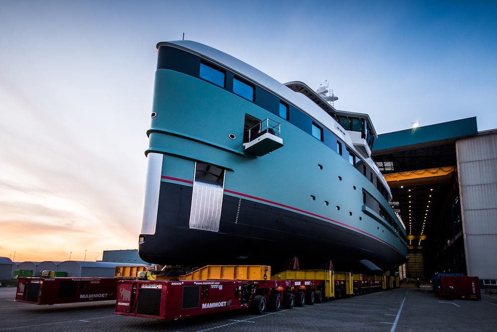 Damen launches first SeaXplorer expedition yacht