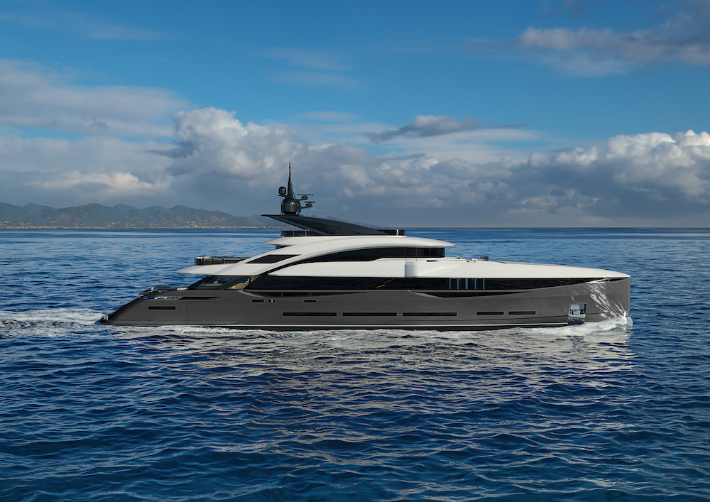 Sold the second unit of the Isa 45 metre Granturismo