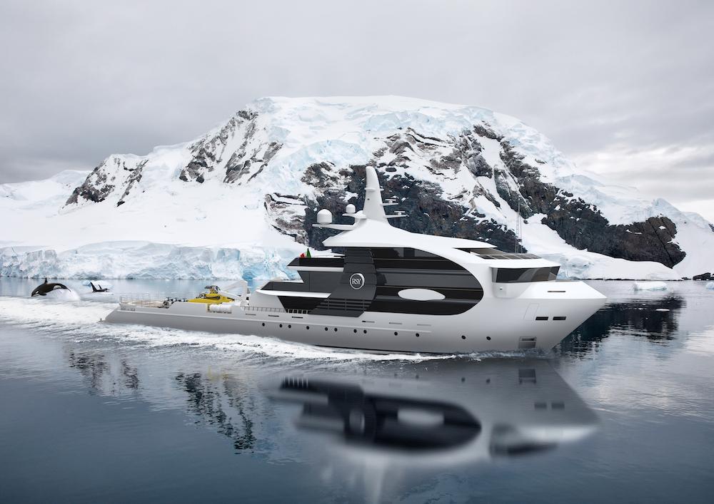 Rosetti Superyachts ha presentato Project Orca