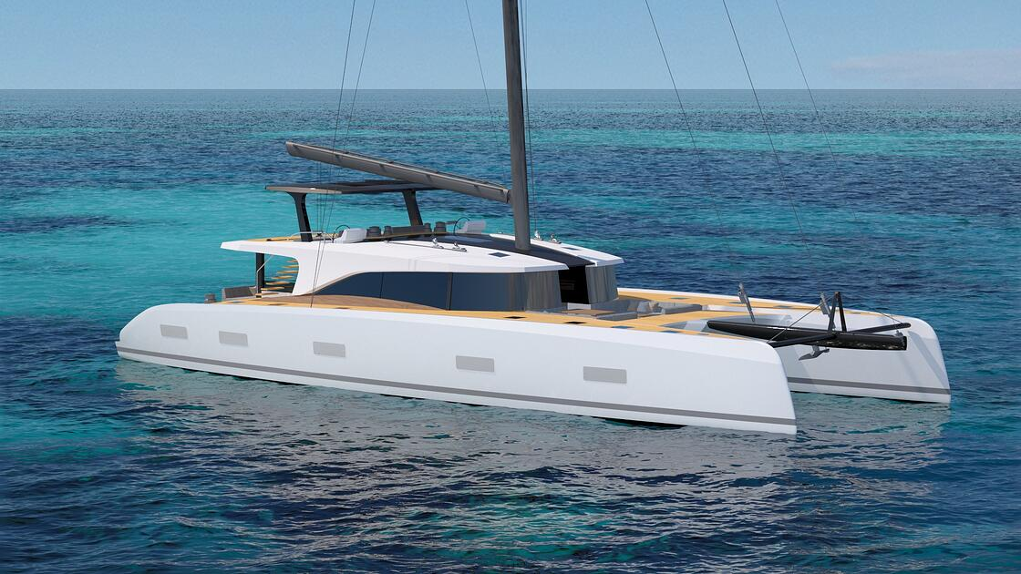 Southern Wind Shipyard unveils the SWCAT90