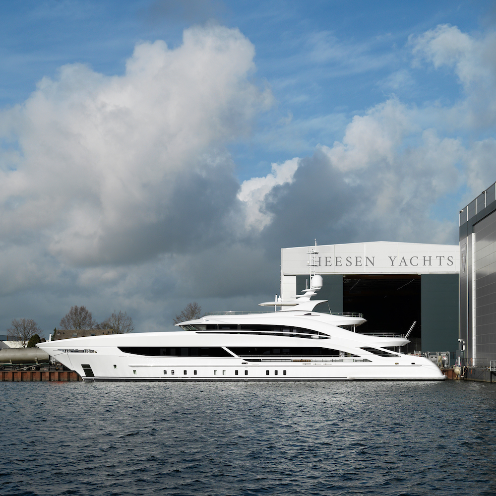 Project Triton, il 50 metri di Heesen pronto per i sea trials