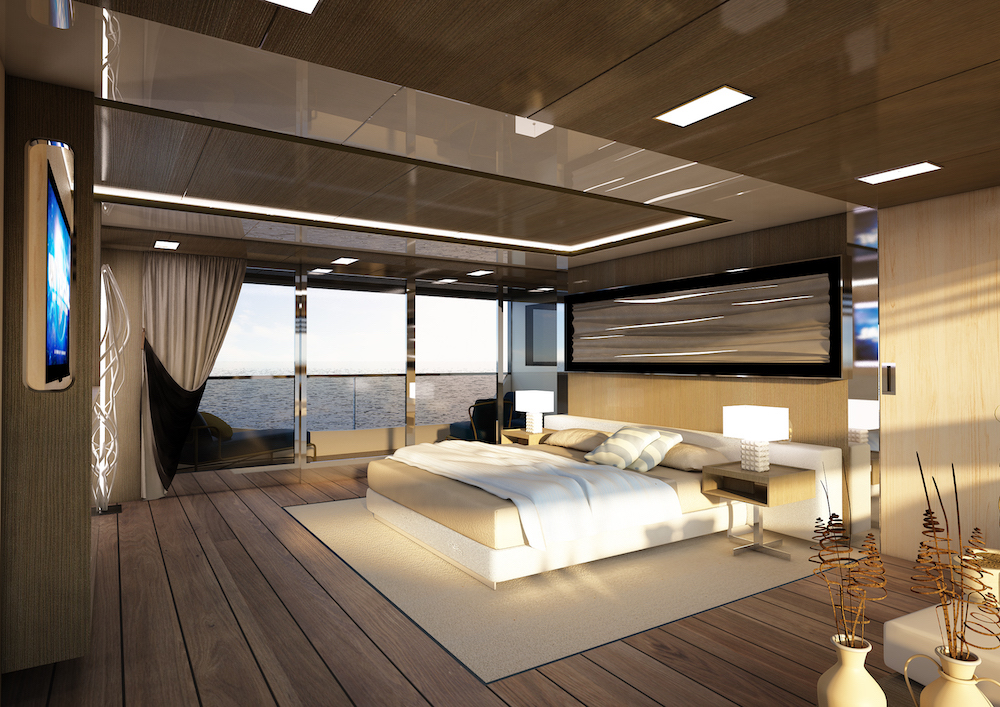 Reale Yachts sells the first yacht of the Pacific line