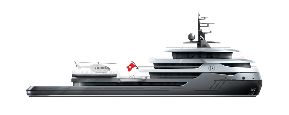 Icon Yachts vara Ragnar un 68 metri riconvertito