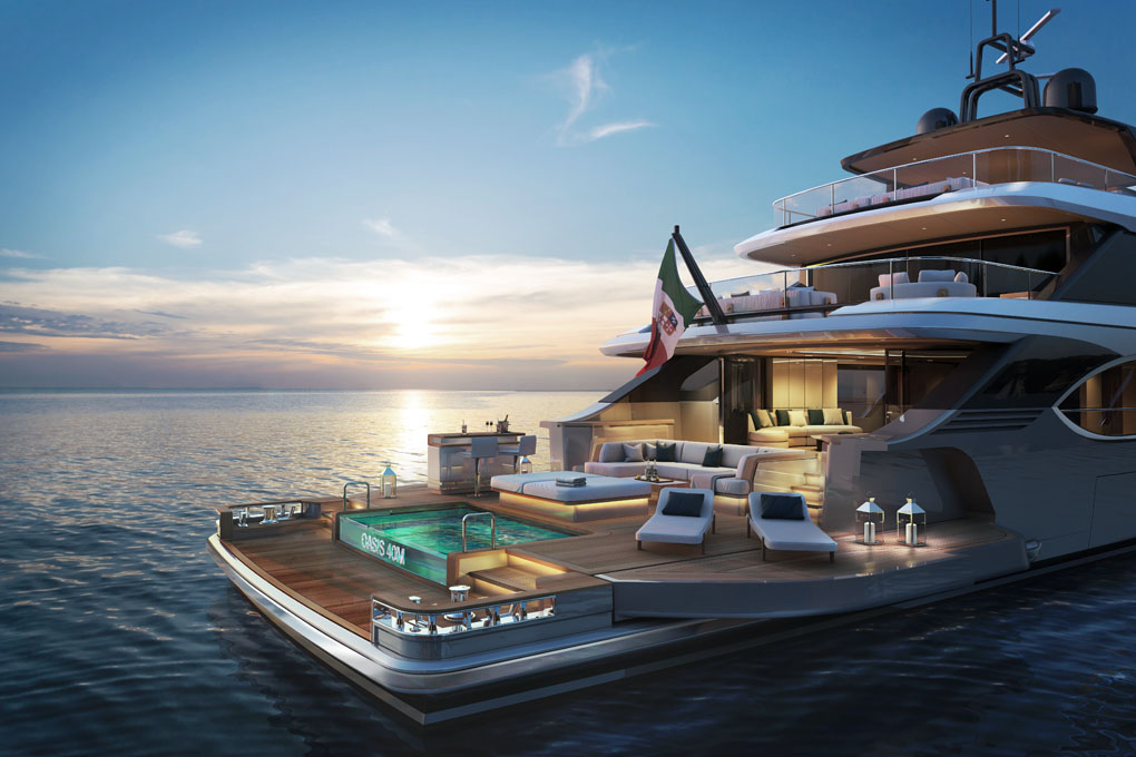 Benetti project Oasis40 Mt