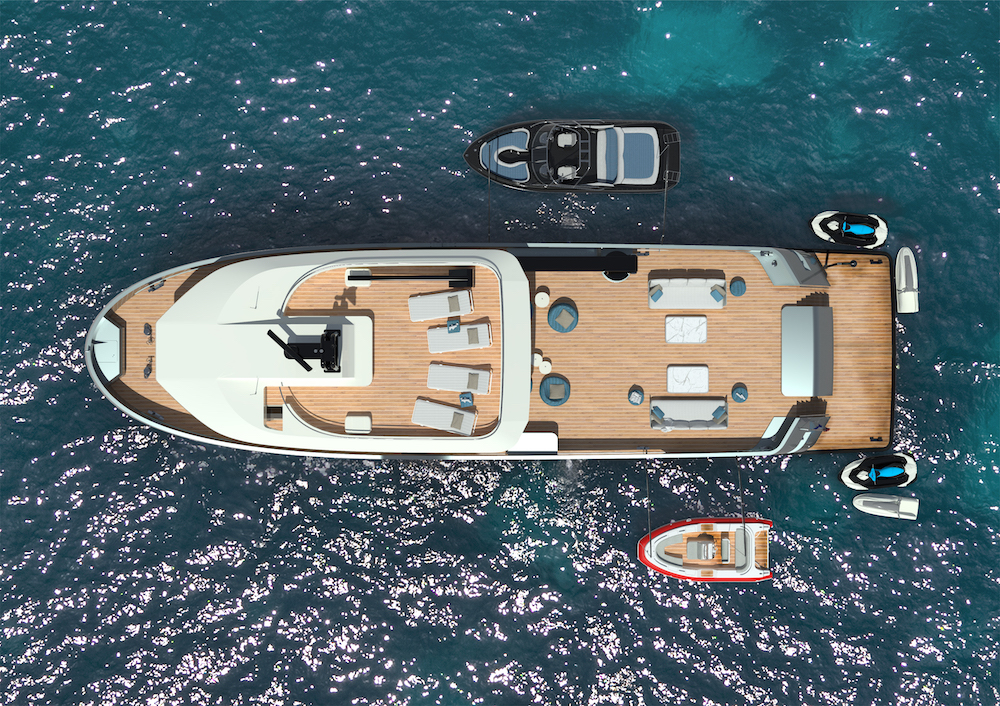 A brand new project and sale for Lynx Yachts