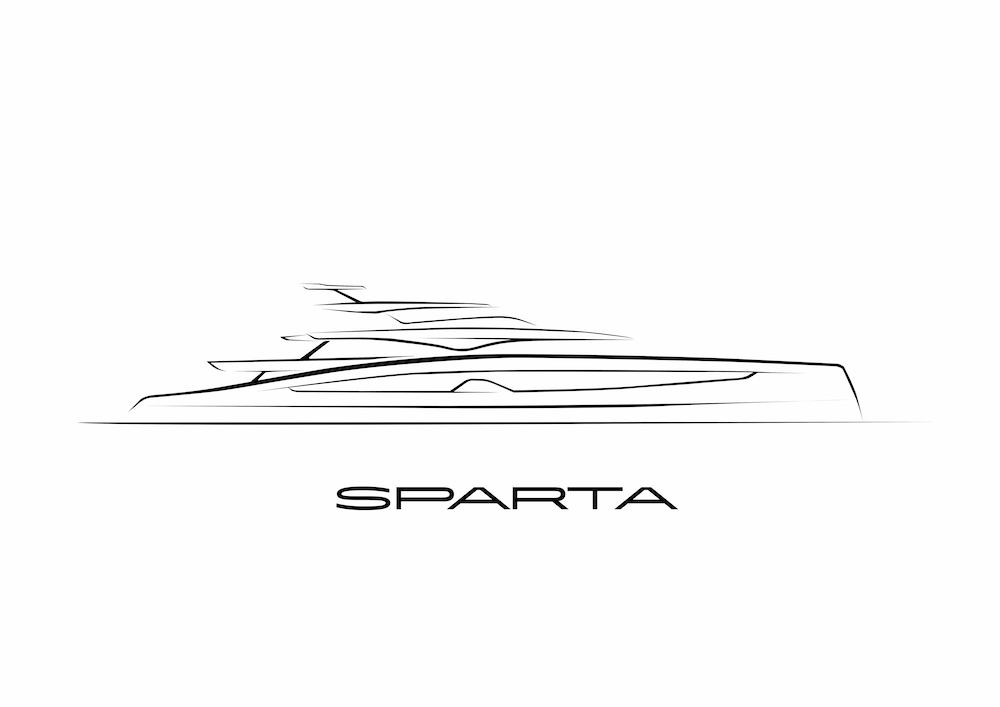 Heesen 67m Project Sparta is sold for delivery in 2023