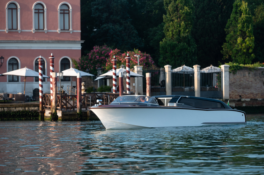 Thunder, the Nuvolari Lenard Venetian Water Taxi