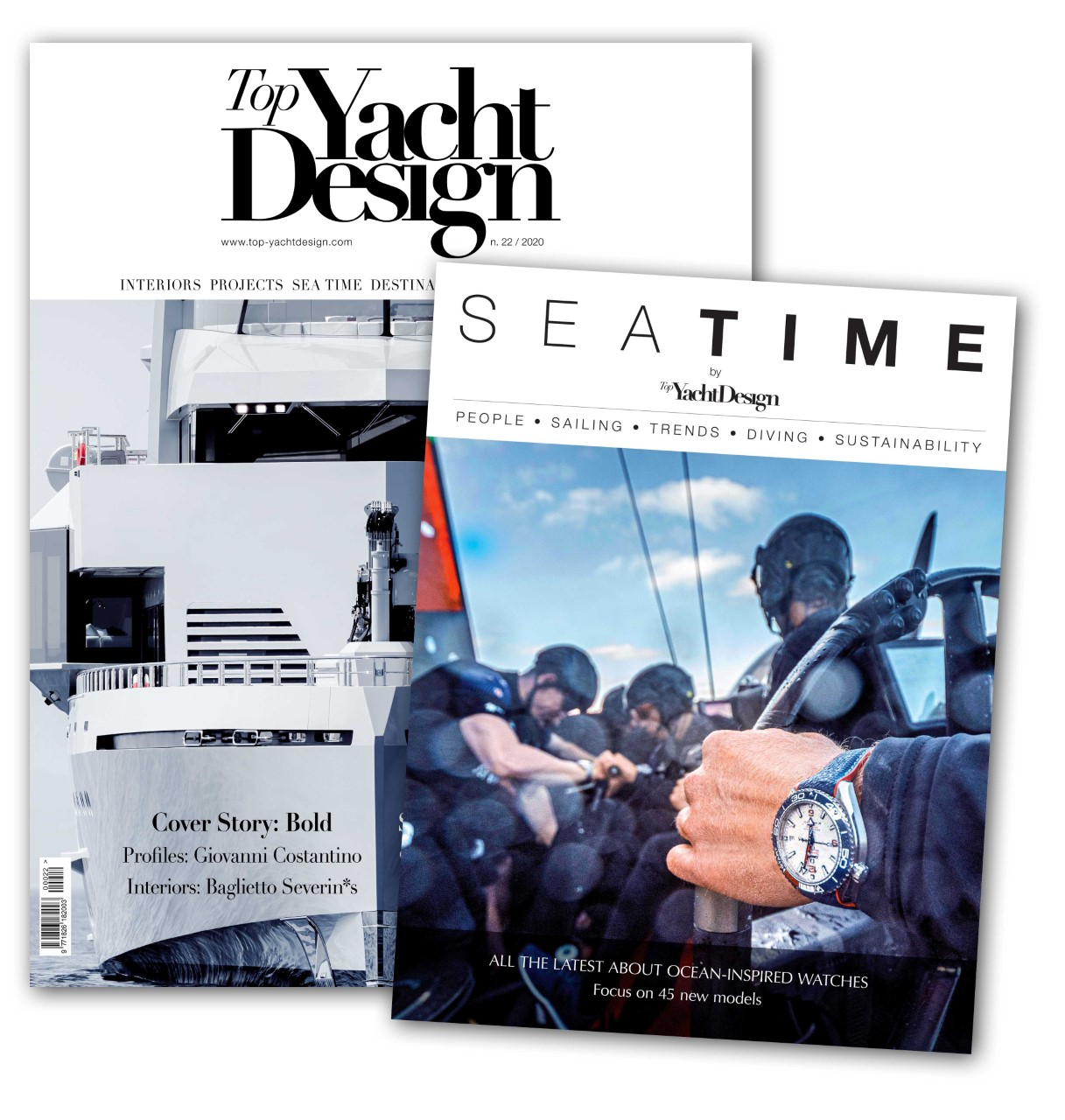 È in edicola il nuovo numero di Sea Time by Top Yacht Design