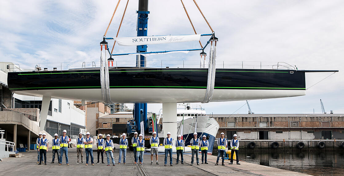 Launched the RP-Nauta 100 by Southern Wind Shipyard